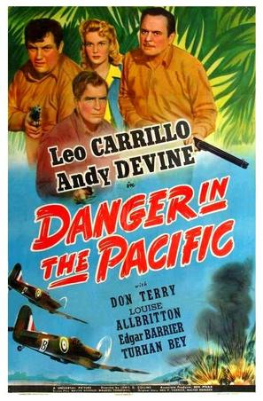 Danger in the Pacific - Movie Poster (thumbnail)