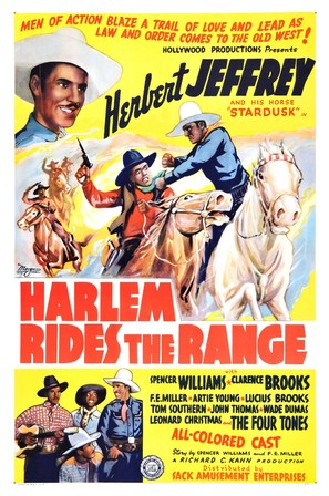 Harlem Rides the Range - Movie Poster (thumbnail)
