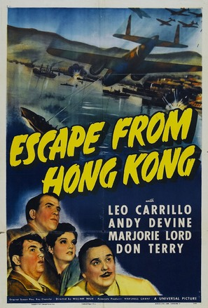 Escape from Hong Kong - Movie Poster (thumbnail)