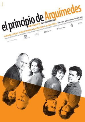 Principio de Arquímedes, El - Spanish Movie Poster (thumbnail)