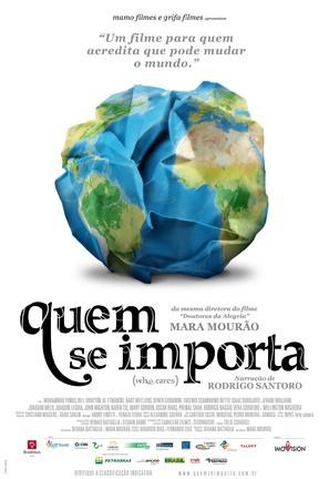 Quem se importa - Brazilian Movie Poster (thumbnail)