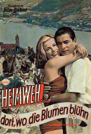 Heimweh... dort wo die Blumen blüh'n - Austrian Movie Poster (thumbnail)