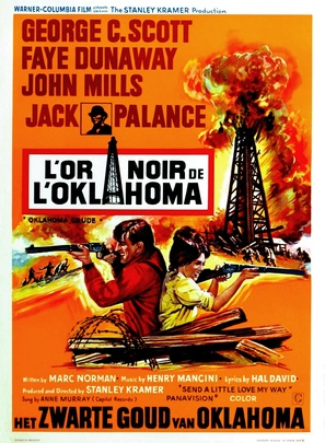 Oklahoma Crude - Belgian Movie Poster (thumbnail)