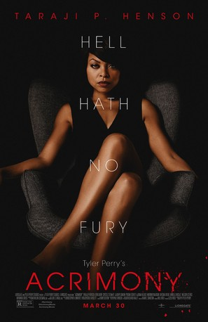 Acrimony - Theatrical movie poster (thumbnail)