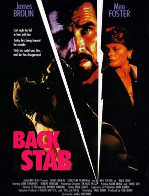 Back Stab - Canadian Movie Poster (thumbnail)