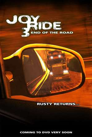 Joy Ride 3 - Video release poster (thumbnail)