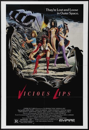 Vicious Lips - Theatrical poster (thumbnail)