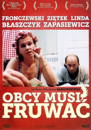 Obcy musi fruwac - Polish DVD movie cover (thumbnail)
