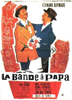 La bande à papa - French Movie Poster (thumbnail)