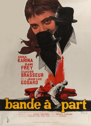 Bande à part - French Movie Poster (thumbnail)