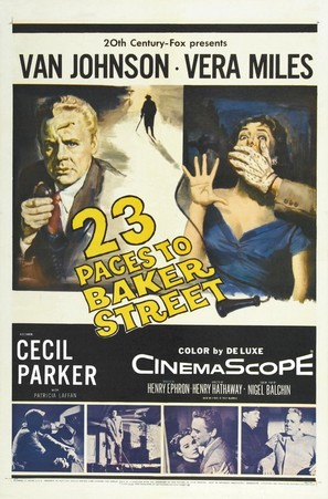 23 Paces to Baker Street - Movie Poster (thumbnail)