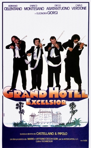 Grand Hotel Excelsior - Italian Movie Poster (thumbnail)