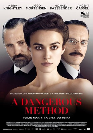 A Dangerous Method - Italian Movie Poster (thumbnail)