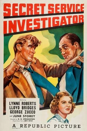 Secret Service Investigator - Movie Poster (thumbnail)
