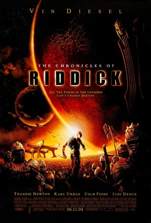 The Chronicles of Riddick - Movie Poster (thumbnail)