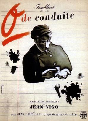 Zéro de conduite: Jeunes diables au collège - French Movie Poster (thumbnail)