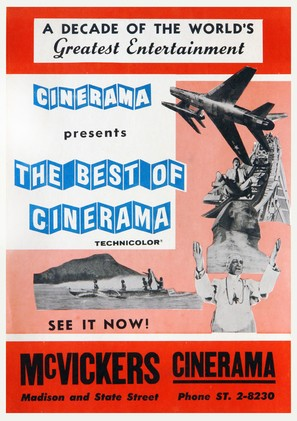 Best of Cinerama - Movie Poster (thumbnail)