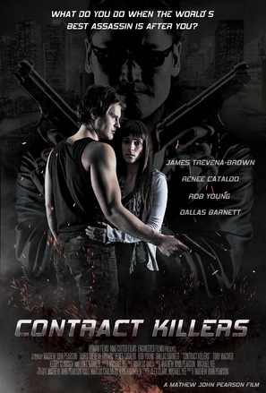 Contract Killers - New Zealand Movie Poster (thumbnail)