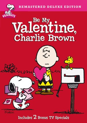 Be My Valentine, Charlie Brown - DVD cover (thumbnail)