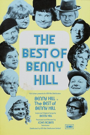 The Best of Benny Hill - Movie Poster (thumbnail)