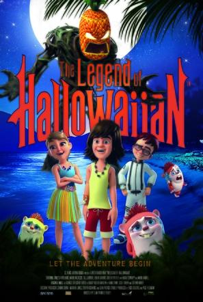 Legend of Hallowaiian - Movie Poster (thumbnail)
