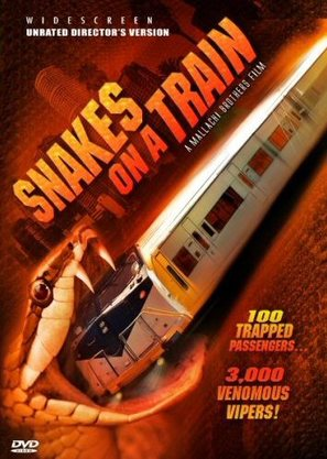 Snakes on a Train - DVD cover (thumbnail)