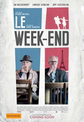 Le Week-End - Australian Movie Poster (thumbnail)