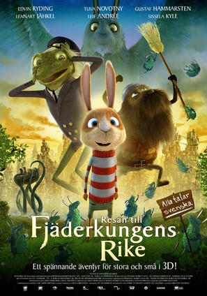 Resan till Fjäderkungens Rike - Swedish Movie Poster (thumbnail)