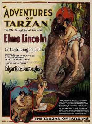The Adventures of Tarzan - Movie Poster (thumbnail)