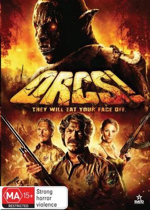 Orcs! - Australian DVD cover (thumbnail)