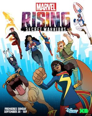 """""""Marvel Rising: Secret Warriors"""" - Movie Poster (thumbnail)"""