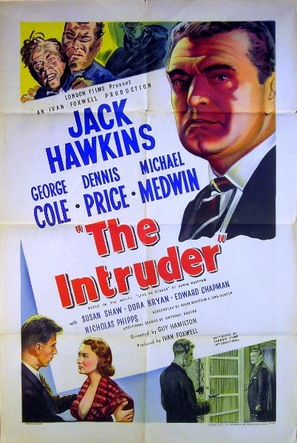 The Intruder - British Movie Poster (thumbnail)