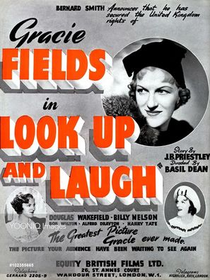 Look Up and Laugh - British Movie Poster (thumbnail)