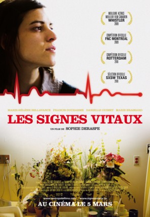 Les signes vitaux - Canadian Movie Poster (thumbnail)