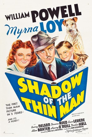 Shadow of the Thin Man - Theatrical poster (thumbnail)