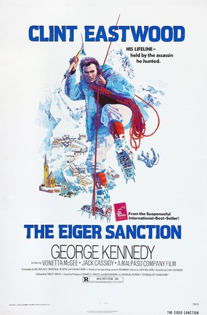 The Eiger Sanction - Movie Poster (thumbnail)