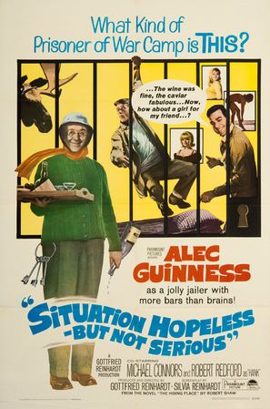 Situation Hopeless... But Not Serious - Movie Poster (thumbnail)