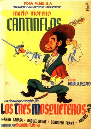 Tres mosqueteros, Los - Movie Poster (thumbnail)