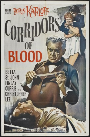 Corridors of Blood - Movie Poster (thumbnail)