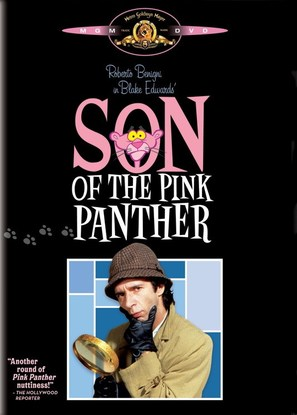 Son of the Pink Panther - DVD movie cover (thumbnail)