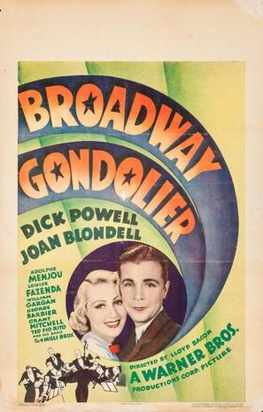 Broadway Gondolier - Movie Poster (thumbnail)