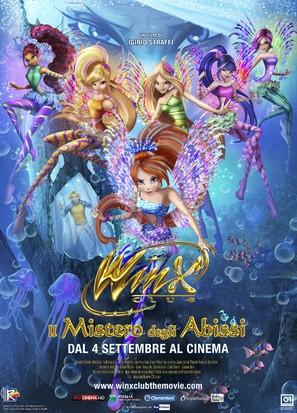 Winx Club: Il mistero degli abissi - Italian Movie Poster (thumbnail)