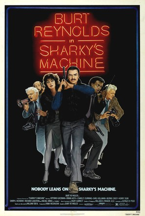Sharky's Machine - Movie Poster (thumbnail)