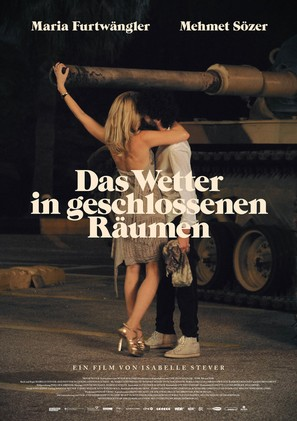 Das Wetter in geschlossenen Räumen - German Movie Poster (thumbnail)