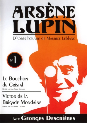 """Arsène Lupin"" - French DVD cover (thumbnail)"