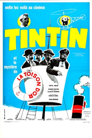 Tintin et le mystère de la toison d'or - French Movie Poster (thumbnail)