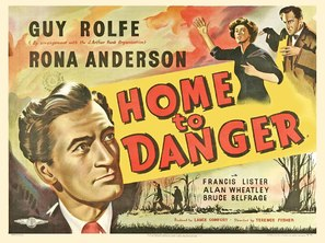 Home to Danger - Movie Poster (thumbnail)