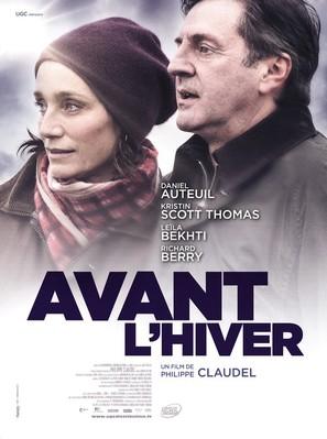 Avant l'hiver - French Movie Poster (thumbnail)