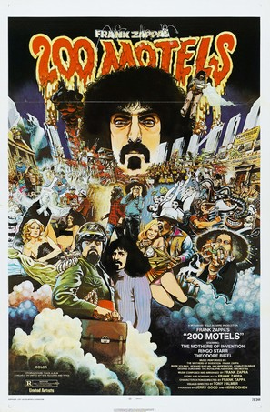 200 Motels - Theatrical movie poster (thumbnail)