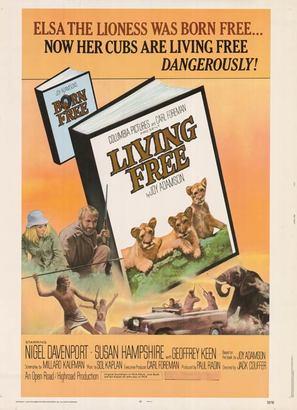Living Free - Movie Poster (thumbnail)
